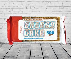 Energy Cake 500 - 24 Riegel á 125g