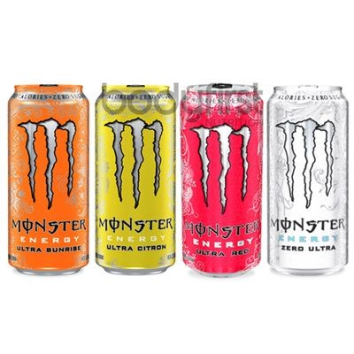 Monster Energy Zero Drink 12x500ml - PFANDFREI