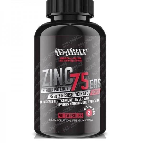 BPS Pharma Zinc 75ers 120 Kapseln - Bisglycinat