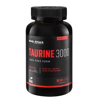 Body Attack Taurine 3000 90 Kapseln