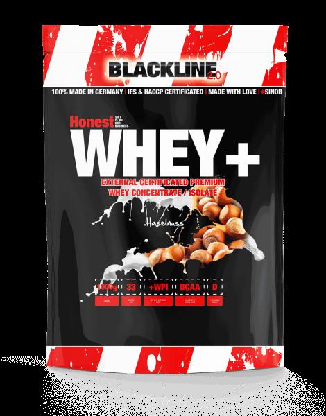 Blackline 2.0 Honest Whey+ 1000g und MILFY WHEY