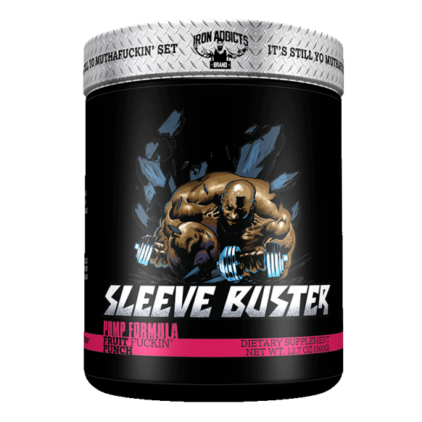 Iron Addicts Sleeve Buster 363g - 30 Servings by CT Fletcher