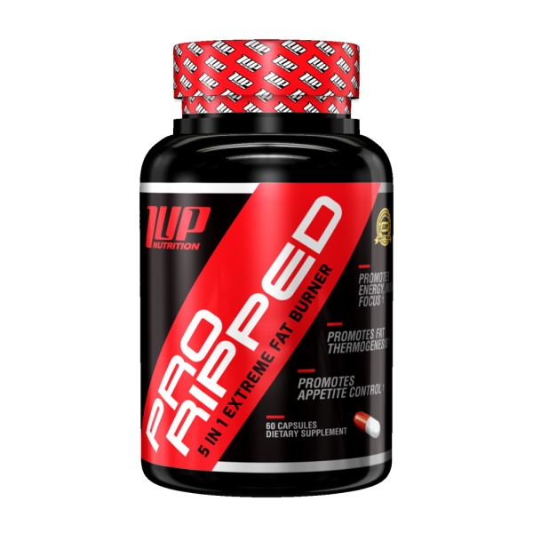 1UP Nutrition Pro Ripped 60 Kapseln - 5-in-1 Extreme Fat Burner