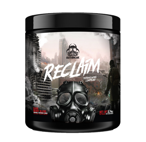 Outbreak Nutrition RECLAIM 165g - 30 Servings fatburner