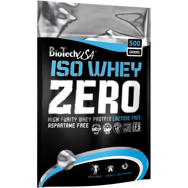 Biotech USA Iso Whey Zero 500g - 0g Lactose