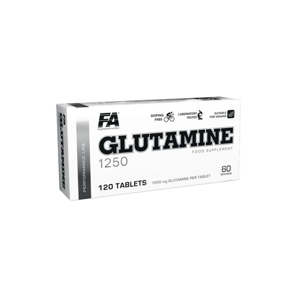 FA Performance GLUTAMINE 1250 - 120 Tablettem