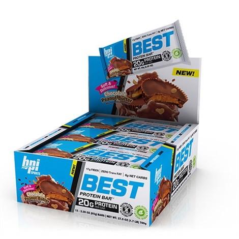 BPi Sports Best Protein Bar 12 x 60g Riegel