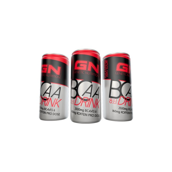 GN Laboratories BCAA 8:1:1 Drink : 24x250ml Dosen ohne Pfand