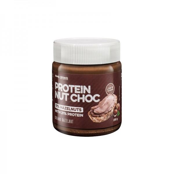 Body Attack Protein NUT CHOC Creme - 250g