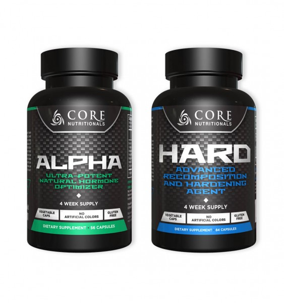 Core Nutritionals Lean Mass Stack - ALPHA & HARD