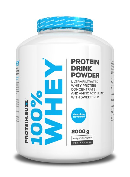 Protein.buzz 100% Isolate Protein 2000g