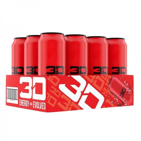 3D Energy - 12x473ml KEIN PFAND!