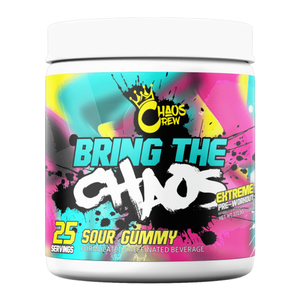 CHAOS CREW BRING THE CHAOS 372g - 25 Servings - BOOSTER