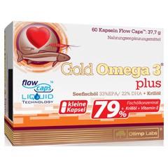Olimp Gold Omega 3 Plus 60 Kapseln
