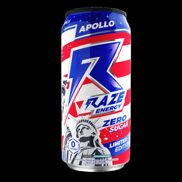 Raze Energy 12 x 473ml - ZERO SUGAR ENERGY DRINK
