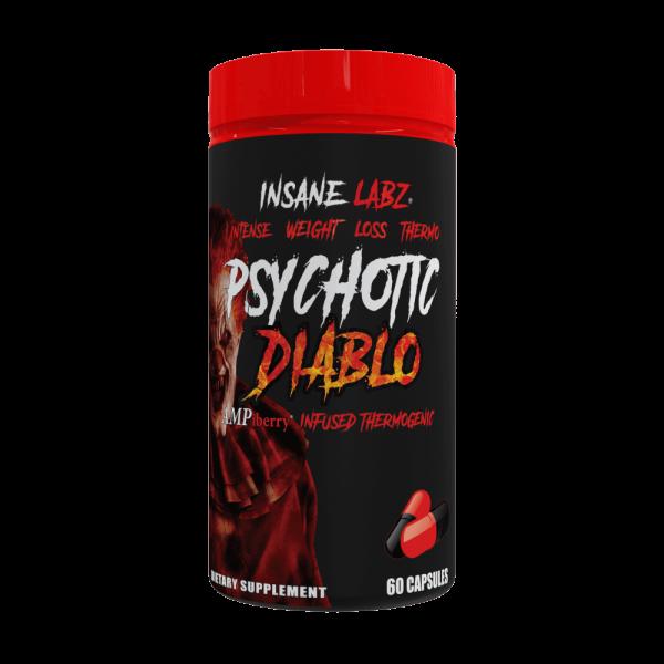 INSANE LABZ Psychotic Diablo 60 Kapseln - FATBURNER
