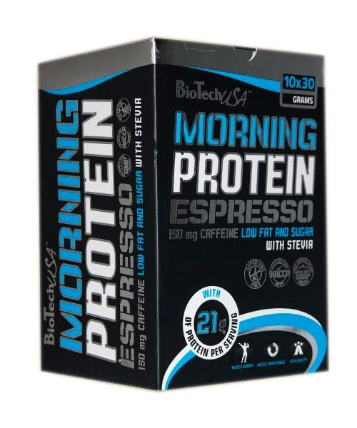 Biotech USA Morning Protein 10x30g Packs